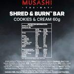 Shred-Burn-Cookie-&-Cream-60g-NIP