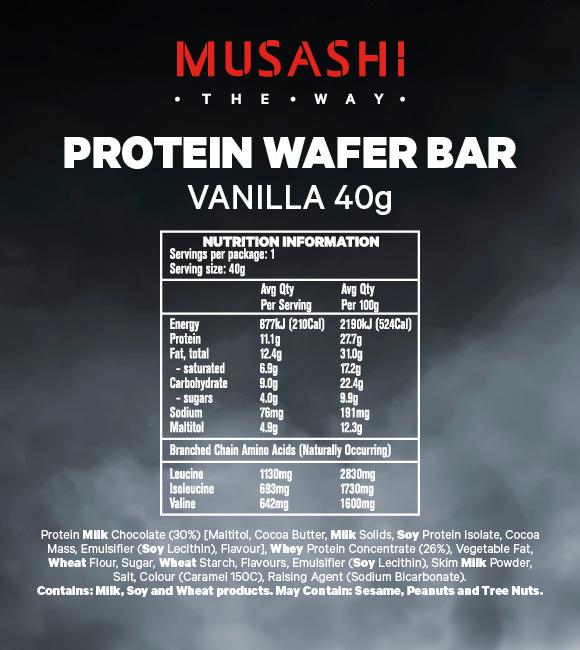 Protein-Wafer-Vanilla-40g-NIP